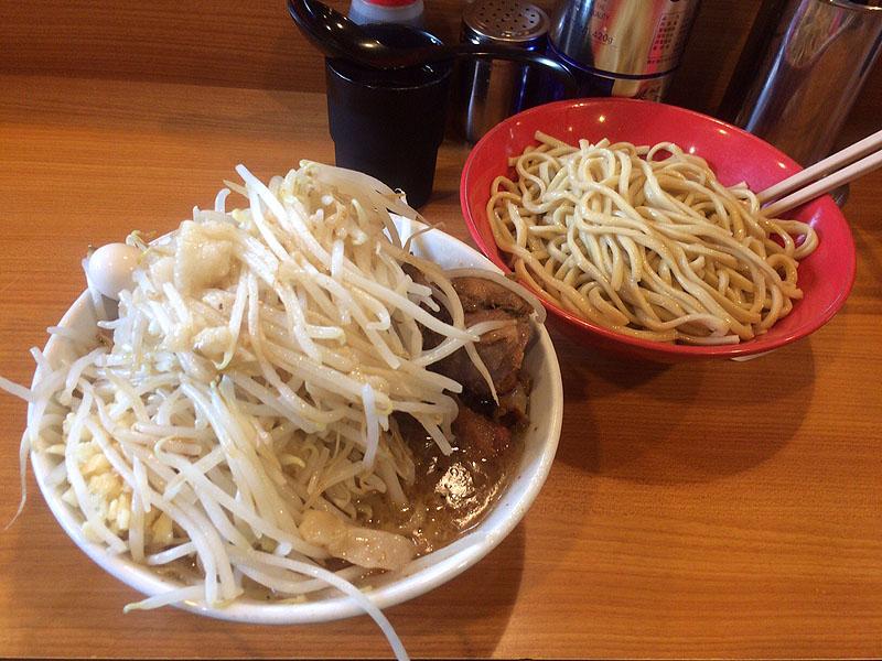 ラーメン二郎 八王子野猿街道店2 つけ麺 シークヮーサー
