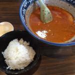 八王子 樽座 子安店 限定 トマト海老味噌ラーメン