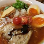 麺処 あずき 八王子 ラーメン トマト 味噌