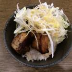 八王子 らーめん 楓 春の限定 桜海老ラー油の鯛出汁塩ワンタン麺