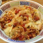 八王子 ほっこり中華そば もつけ 浅利のボンゴレッソピロピロ仕立てつけ麺 限定メニュー