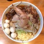 ラーメン二郎 八王子野猿街道店2 つけ麺 辛いやつ