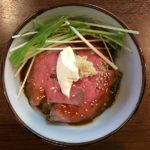 八王子 ゆなみ屋 本店 野猿街道 つけ麺 ロービーミニ丼
