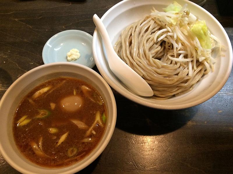 極濃つけ麺 ブンブンマル 海老つけ麺+味玉 9月の限定メニュー