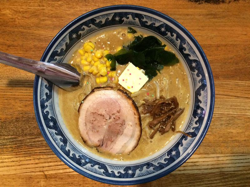 八王子 麺や 樽座 小宮店 味噌カレー牛乳ラーメン