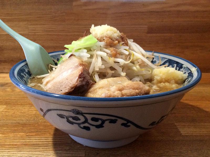 八王子 ラーメン 麺や 樽座 小宮店 味噌ジロー ヤサイニンニクマシ 限定メニュー