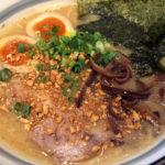 博多とんこつラーメン 麺や 花火 花火ラーメン 堀之内 野猿街道