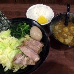 八王子 横浜家系 まるに家 家系つけ麺 味玉 らーめん