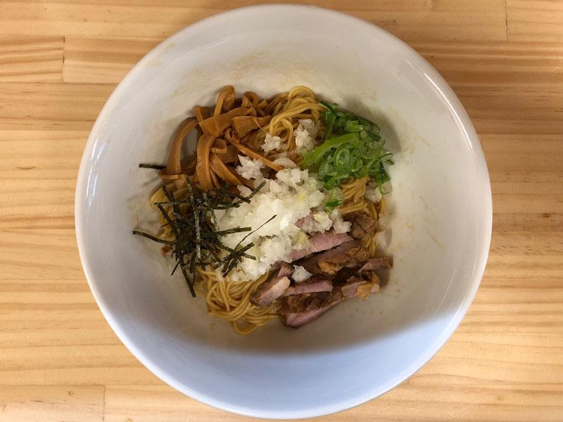 八王子ラーメン びんびん亭 ユーロード店 まぜ麺