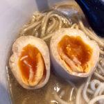 八王子ラーメン らーめん楓 塩煮干らーめん 味玉 メルマガクーポン 自家製麺 無化調