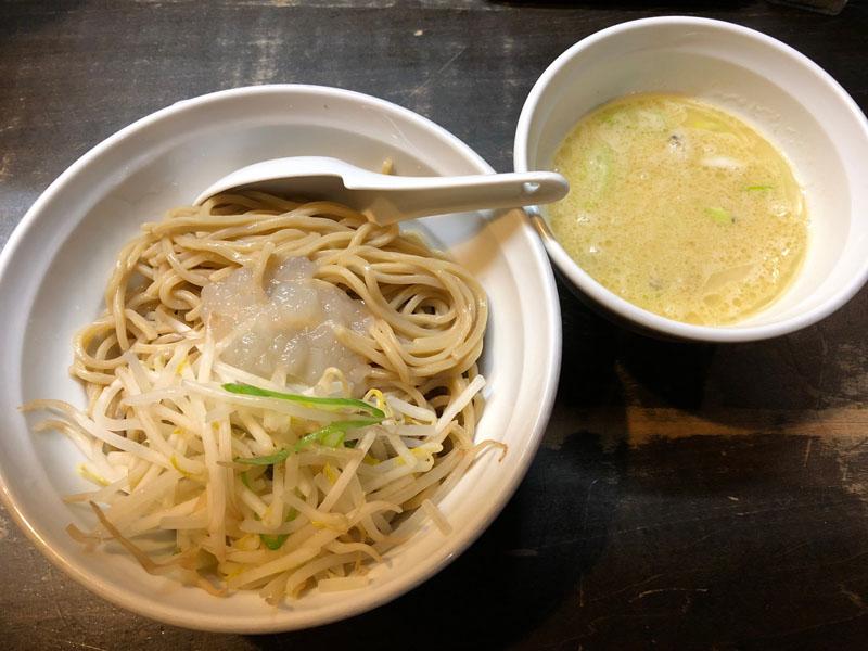 八王子 ラーメン 堀之内 特濃つけ麺 ブンブンマル あさりとベーコンの塩つけ麺 限定
