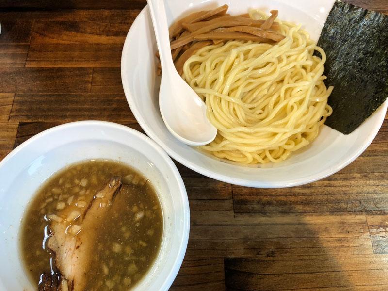 八王子 ラーメン 響 煮干し つけ麺 季間限定