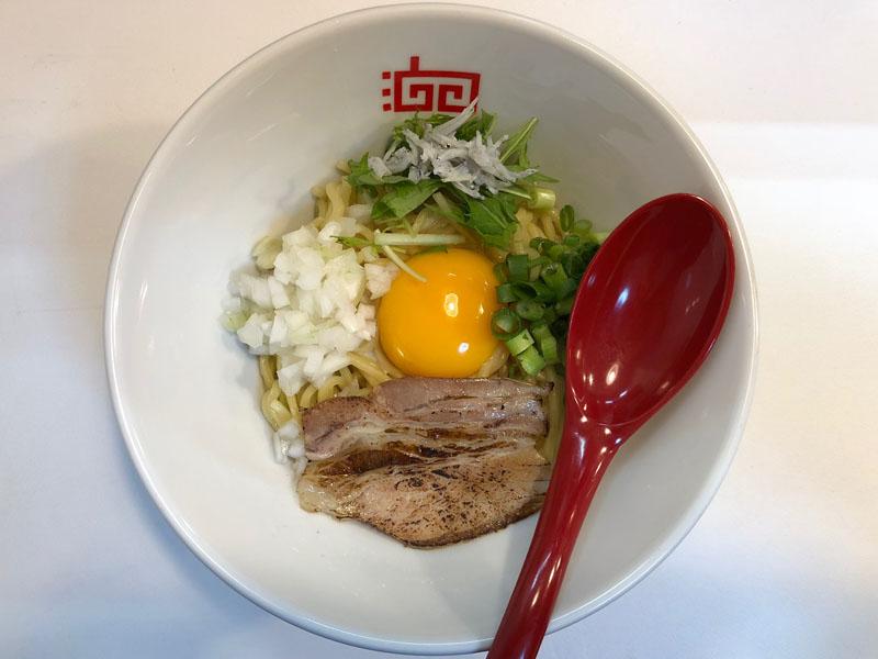 八王子 ラーメン 油そば 油田 TOKYO OIL NOODLE YU-DEN 鯛